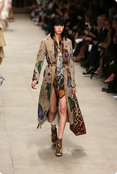 London Fashion Prorsum Week Et Burberry Ses Foulards BoxedrC