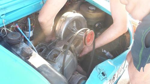 dépose moteur