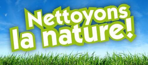 Opération Nettoyons la nature !