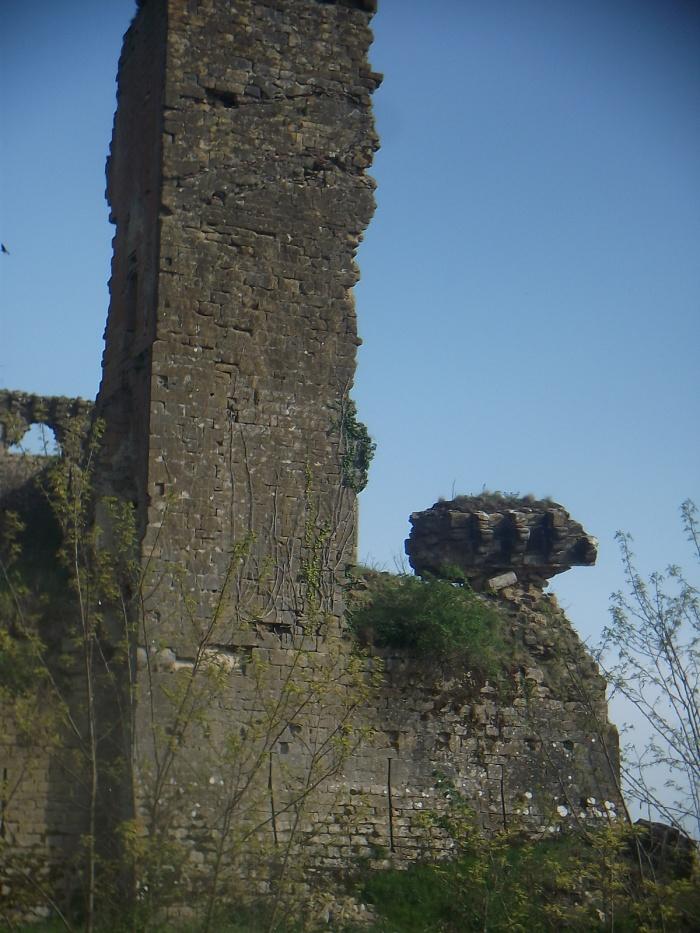 Le château de Lagarde.... Une surprise de taille !