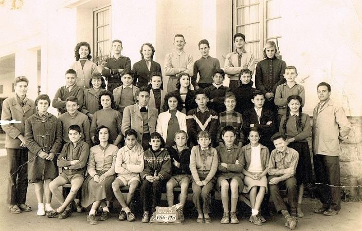 Année Scolaire 1956-1957 Classe de 5ème