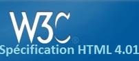 W3C Spécification HTML 4.01