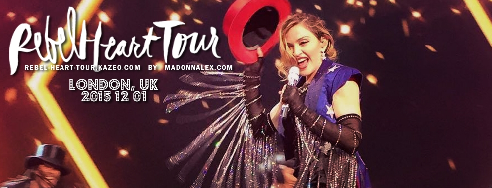 Madonna Rebel Heart Tour London