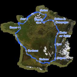 Charles Hedrich : 1er tour de France à la rame!