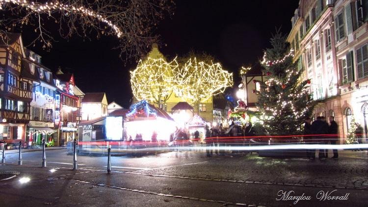 Au temps des marchés de Noël : Place Jeanne d'Arc