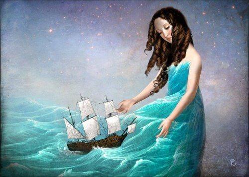 femme-avec-un-bateau-dans-la-jupe-500x357