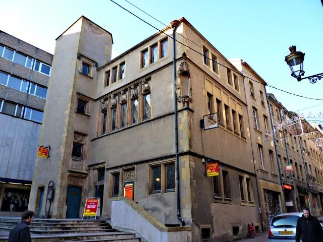 Metz la Maison des Têtes 1 4 01 2010