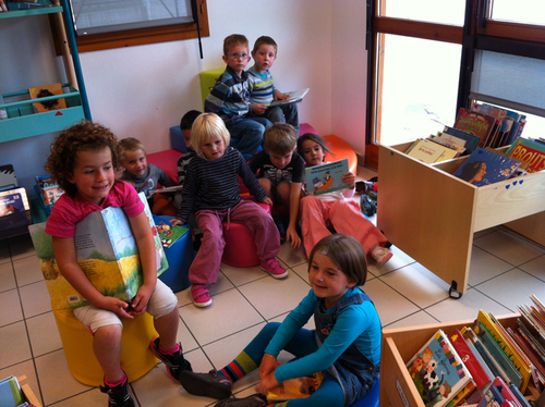 Petits instants en bibliothèque avec  Cynthia