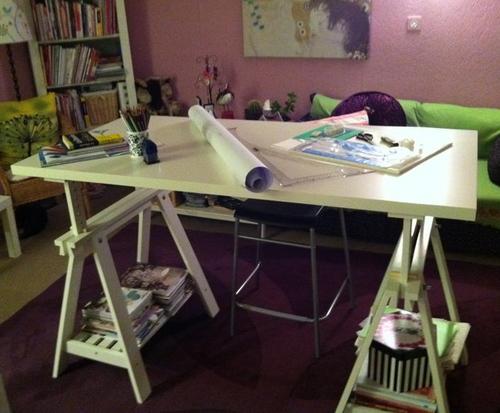 Mon nouvel atelier ;-)