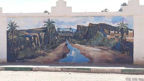 Street art à Tazzarine