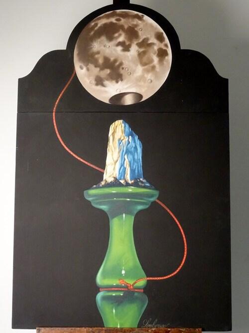 La pleine lune et la suite des amies qui la fait danser ...