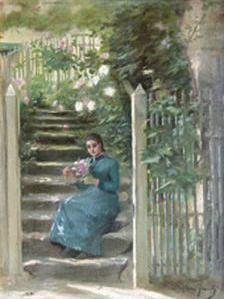 Stephen JACOB, peintre né à Baigneux les juifs