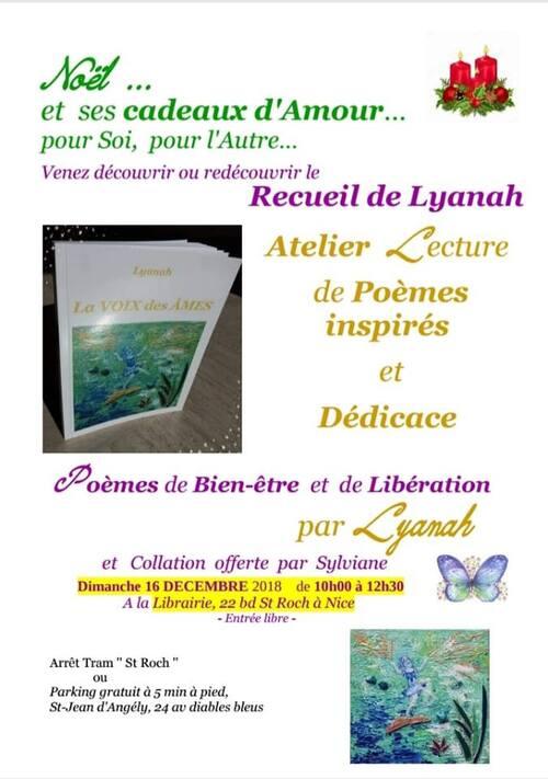 """Livre """"La VOIX des AMES"""" de Lyanah"""