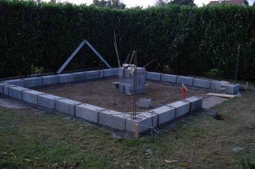 Accueil construction d 39 un abri de jardin for Construction garage parpaing plan