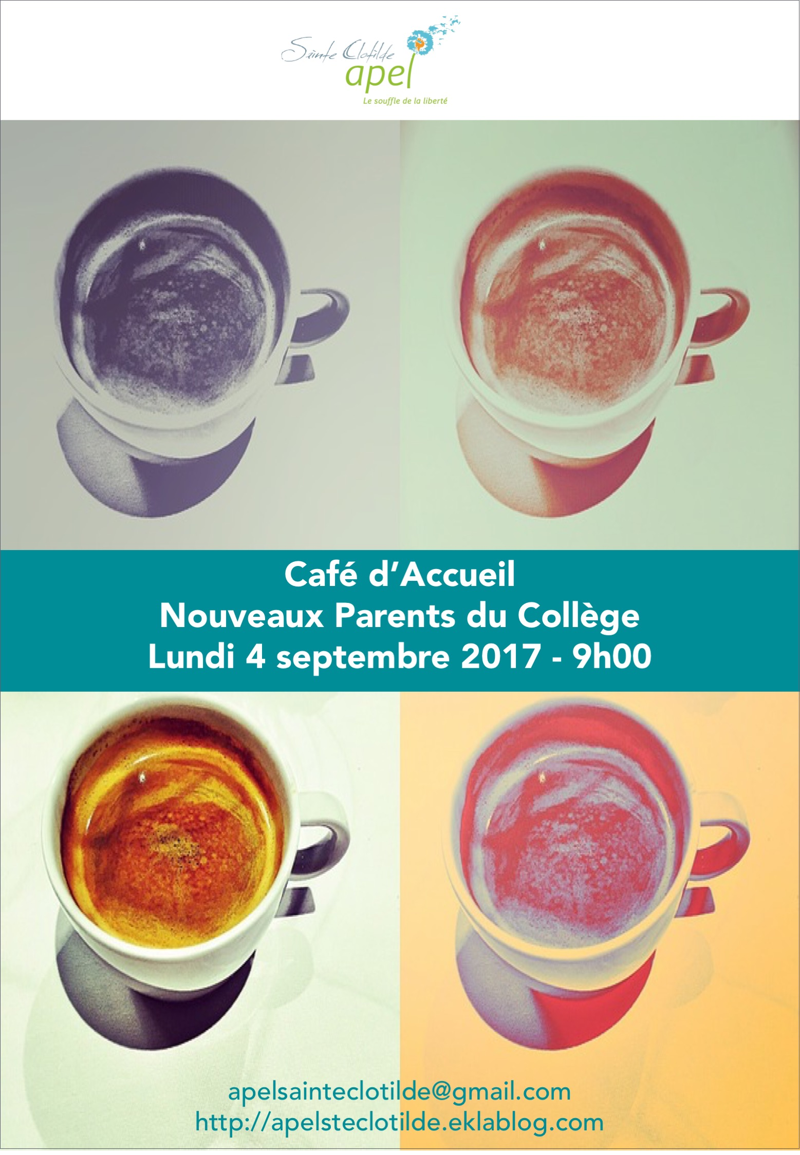 Café d'Accueil des nouveaux parents