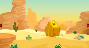 Jouer à Desert land escape