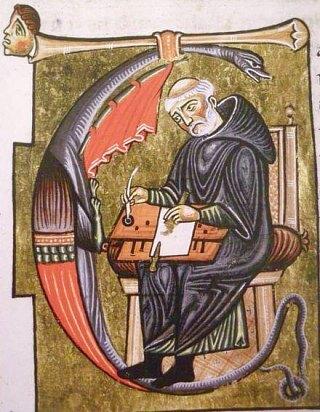 Fabrication d'un manuscrit au Moyen Age