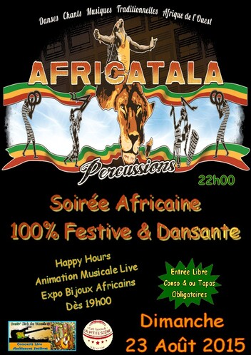 ★ Africatala Percussions