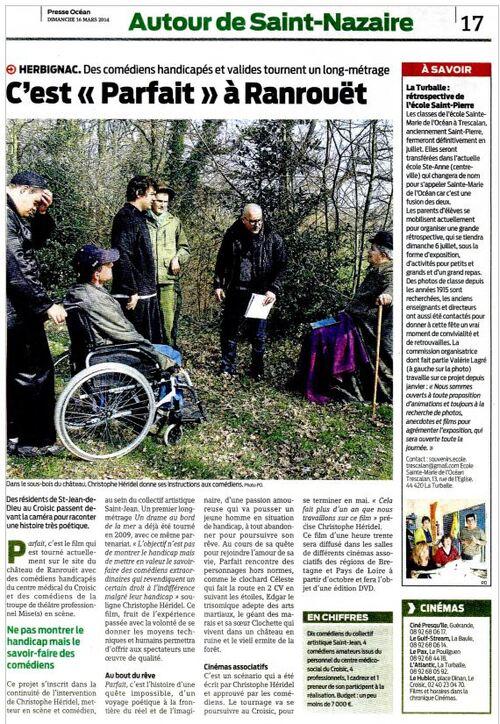 Presse océan 16 mars 2014