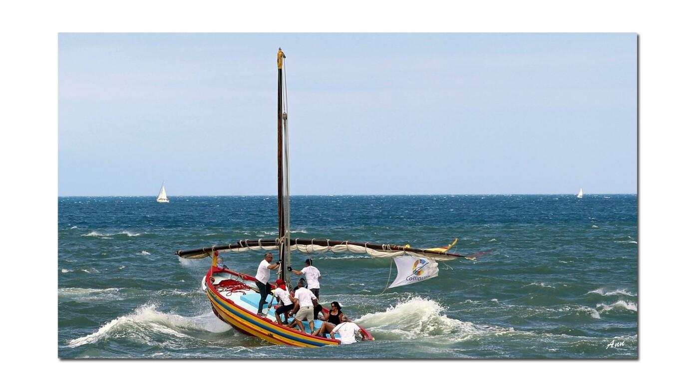 Sortie barques Catalanes