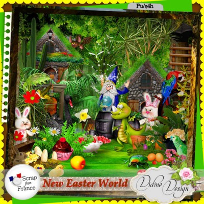 New Easter World by Didine Design