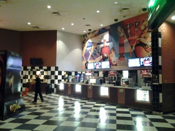 Au cinéma.