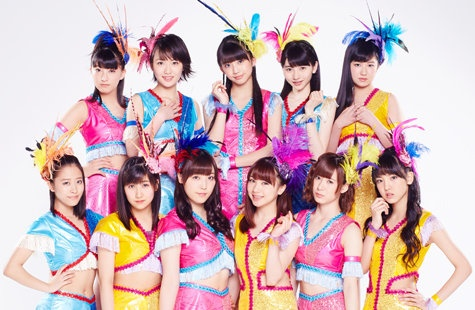 Apparition des Morning Musume'16 dans le Music Station du 19 septembre