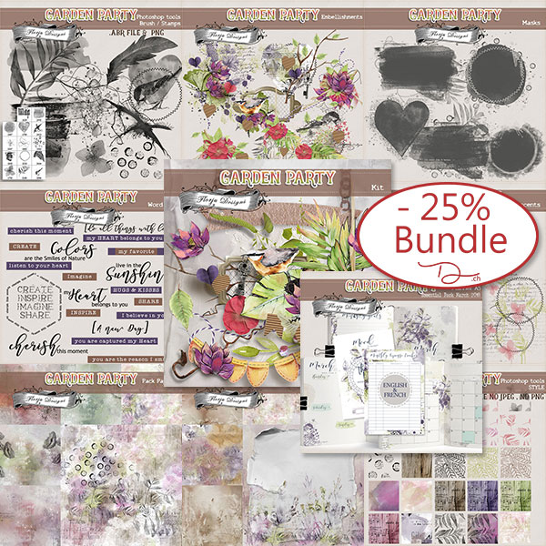 Garden Party { Bundle PU } by Florju Designs
