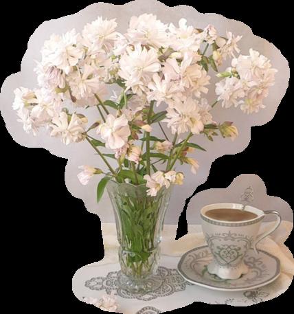 fleurs dans vase 2