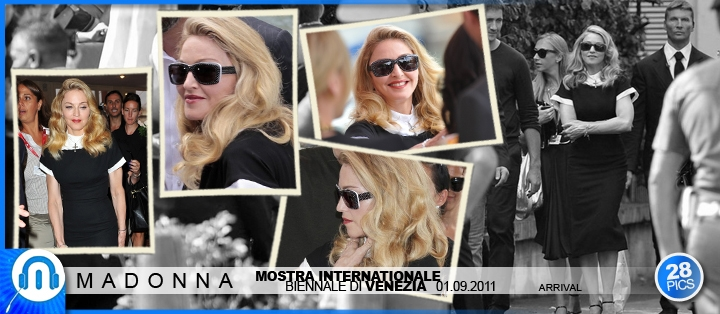Madonna - WE World Premiere - Venice - 01 09 2011 - Arrival