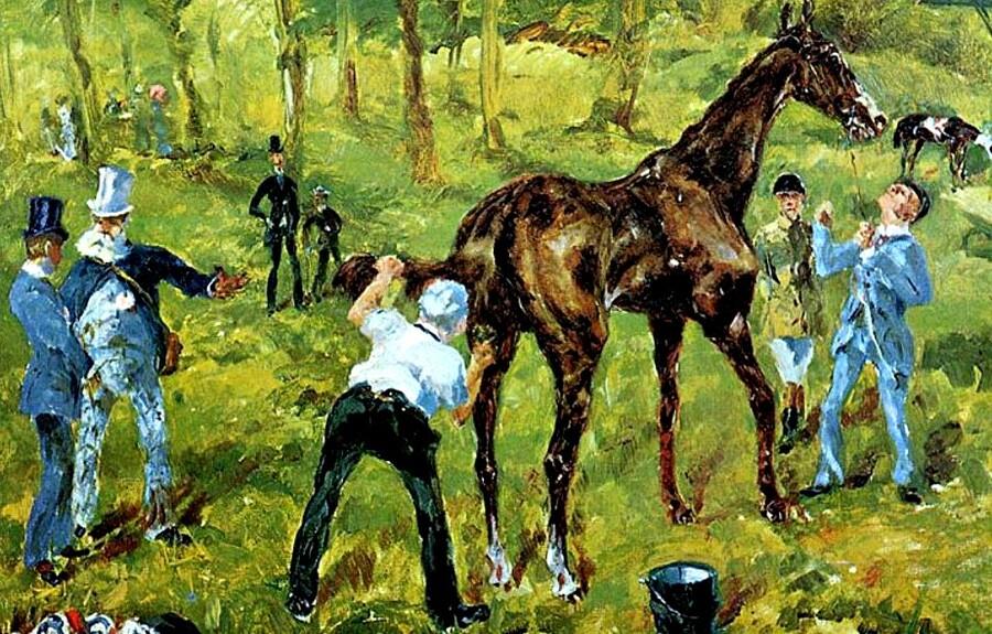2.T-Lautrec / l'amour des chevaux !