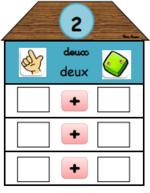 Maisons des nombres interactives.