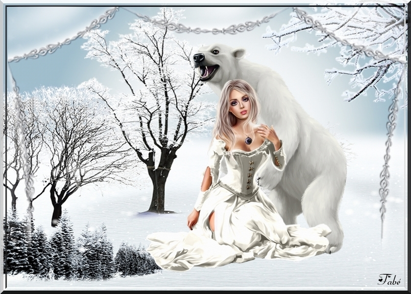 La Dame et son Ours