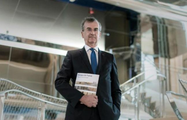 Le gouverneur de la Banque de France François Villeroy de Galhau le 18 mai 2016 à Paris