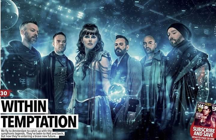 WITHIN TEMPTATION : Vidéo lyric The Reckoning
