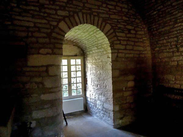 Le bastion du Petit-Haut vu de l'intérieur....