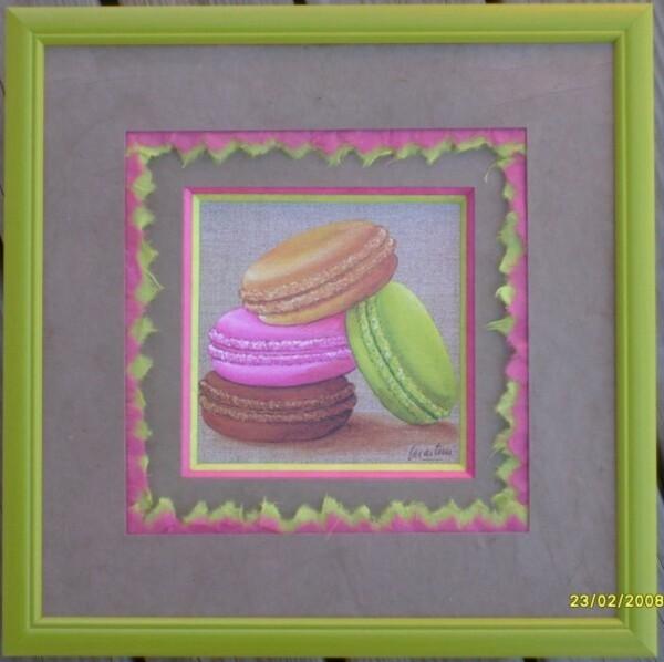 Macarons n 11 -Valérie Beck
