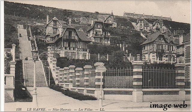 De 1914 à 1918 :  Le gouvernement belge à Sainte-Adresse (Havre) - 2