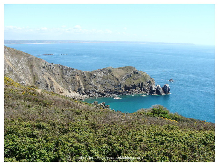 Le nez de Jobourg dans le Cotentin