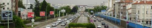 Périph par Geralix sur wikipedia. CC-BY-SA https://commons.wikimedia.org/wiki/File:TPC_periph-Paris_sortie_A6a.jpg