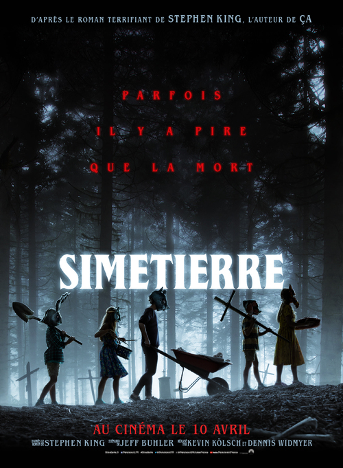 Bande-annonce de SIMETIERRE, d'après le roman terrifiant de Stephen King - Le 10 avril 2019 au cinéma