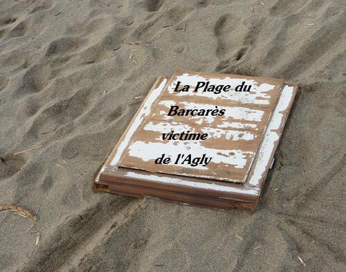 LE BARCARES, VICTIME DE L'AGLY