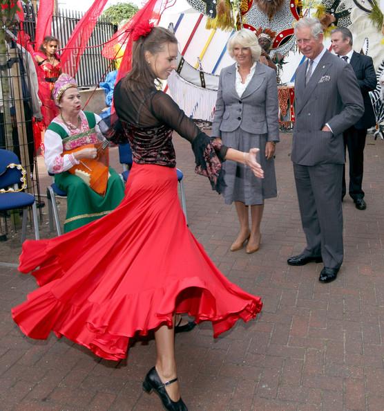 Charles et Camilla à Croydon