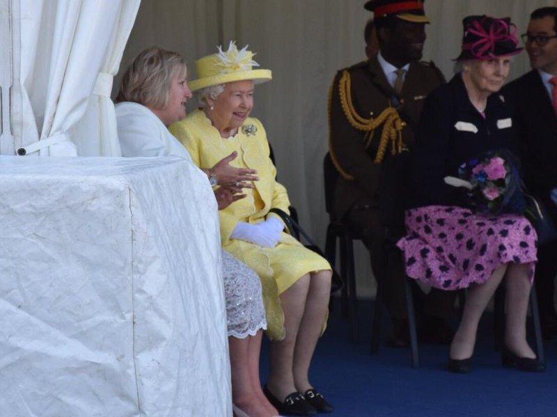 Bonus!! La reine en Ecosse