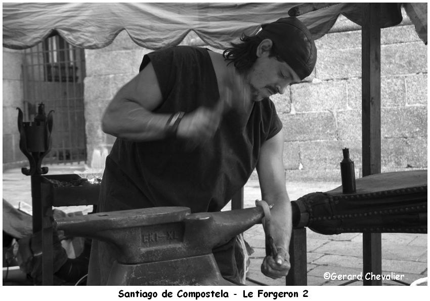 Marché médiéval - Santiago de Compostela