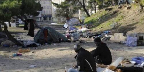 Roms chassés à Marseille