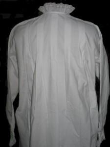 Chemise de nuit en Finette blanche 4