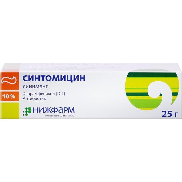 Линимент синтомицина от геморроя отзывы