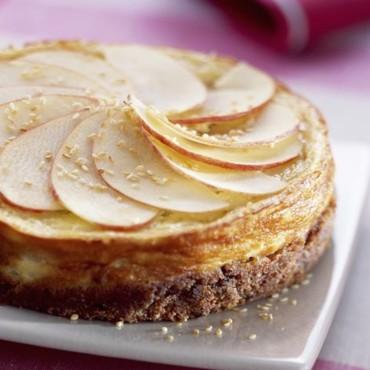 Cheese-cake à la pomme