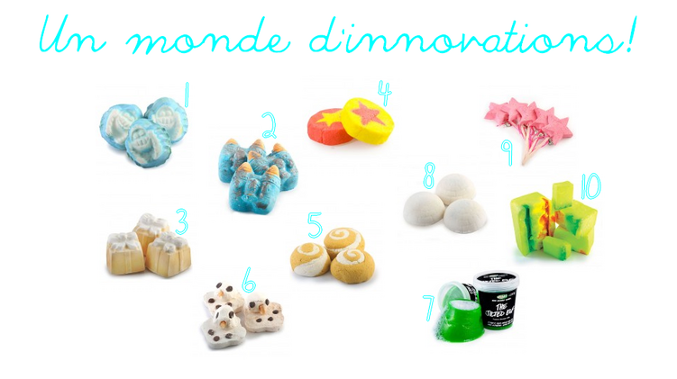 ღ Christas by Lush | Un monde d'innovations!